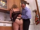Fat Mature Wife Gets Fucked Hard On The Kitchen Table