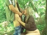 Mature Whore Earning Money To Feed A Family By Fucking Strangers In The Park
