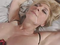 Nina Hartley and Young Boy Fucks Hard