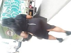 All Black Outfit Big Booty Black Woman