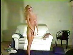 Very cute blonde interracial audition
