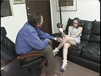 shy teen learns about the value of trust from her therapist