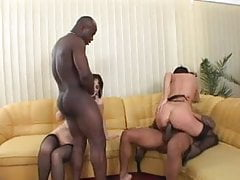 Black cock in ass