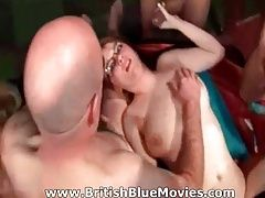 British Amateur Gang Bang