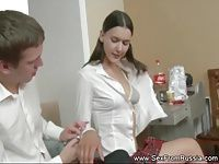 Catholic Teen Sister Fucks Angry Brother