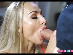 Tattoed Blonde Wife wants a Big Cock