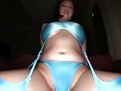 Sexy japanese girl masturbating with dildo