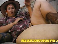 ANOTHER FINE MEXICAN BBW CREAMPIE