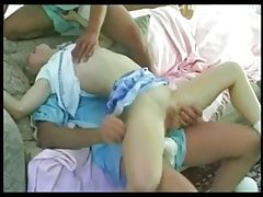 NEXXXT ROLE PLAY SMALL TITTY BABY SITTER MMF THREESOME