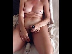 Watching Wife Masturbate to Orgasm 1