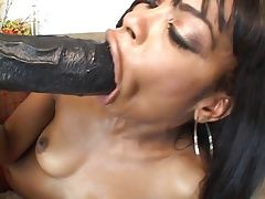 Well padded blonde slut Velicity Von and ebony whore Vanessa Monet take part in nasty fetish threesome action