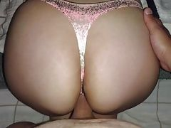 CUMMING ON MY SISTER ASS (SPRAY THONG)