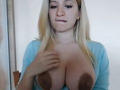 Big breasts huge aureole nice nipples