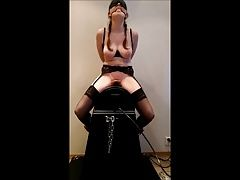Shaking Orgasm On Sybian