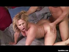 BBW mature takes a hard pounding