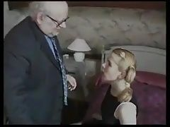 STP4 Old Guy Bribes Tiny Teen With Chocolate For A Fuck !