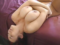 Amateur with big natural boobs in a great fuck