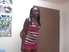 Hairy Black Teen s Audition...F70