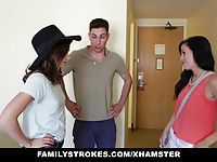 FamilyStrokes - Hotel Room Fun With Step-SIs