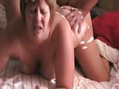 Granny doggystyle pounding