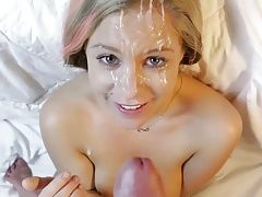 Neighbors wife facial