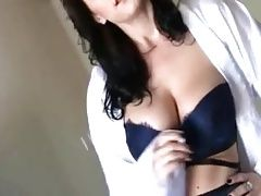 mommy plays in lingerie joi