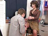 Mom caught sons masturbatsyey her panties ...