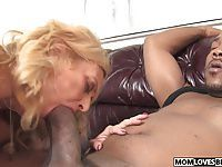Son witness how mom Dana Devine takes a BBC
