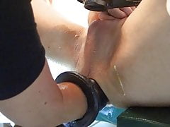 Huge load, double fisting, pig hole, cum, cumshot, nurse