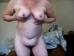 Fat old xHamster granny makes a dirty video for me
