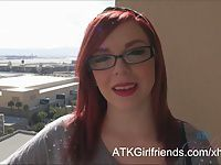 You give Mary Jane Mayhem a POV creampie in Las Vegas
