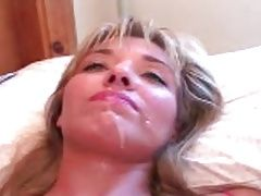 Cum eating blond BBC bred