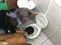 House Slaves Toilet Humiliation Spanking by Mistress RedHead