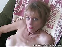 Amateur Mom Sucks and Plays