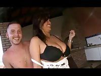 Big Tits Teen and Small Tits friend with lucky Gringo