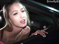 Hot pornstar Kitty Jane fucked hard in PUBLIC by random guys
