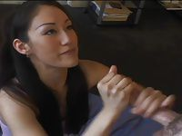 Petite Asian - Blowjob POV Facial