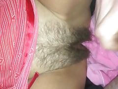 Hungover mommy lets me spray her pussy with cum