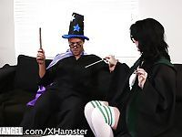 BurningAngel Goth Babes Horny Potter Cosplay!