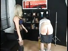 40 Stroke Caning from Miss Brooke