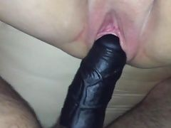 Wife enjoying BBC extension