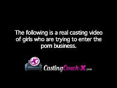 CastingCouch-X Naughty Tight Amateur Auditions For Porn Cast