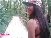 Heather deep go out on the boat and walk in the deep jungle