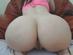 Busty brunette with big phat ass webcam