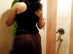 Indian couple in Washroom hot erotic fucking
