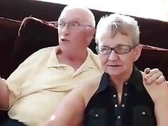 3some with old couple