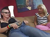 Mohawk MILF Seduces Preppie Teen Girl