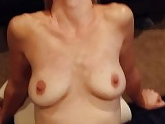 Homemade real amateur Mormon wife facial