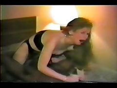 hot wife with a black bull
