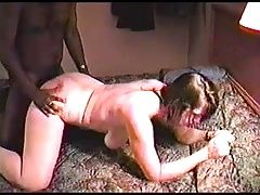 Cheating wife sneaks out for some black cock bareback.